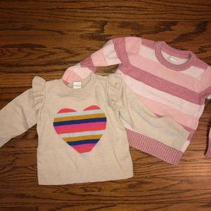 Gap 2t Sweater Bundle